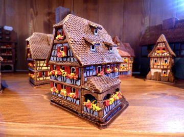 Maison miniature colombage alsacienne 225 maisons - Maison a colombage alsacienne ...